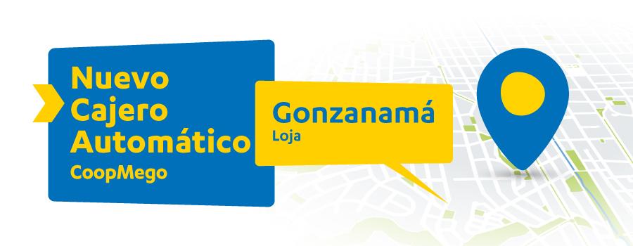 Nuevo Cajero Automático CoopMego en Gonzanamá