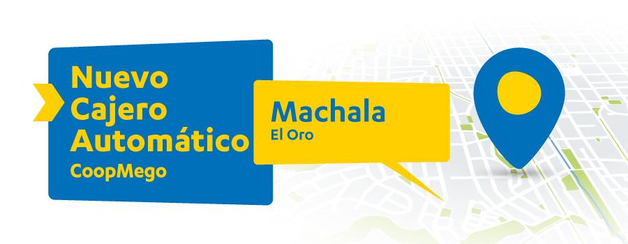 Nuevo Cajero Automático CoopMego en Machala