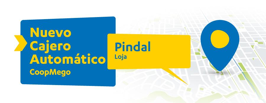 Nuevo Cajero Automático CoopMego en Pindal